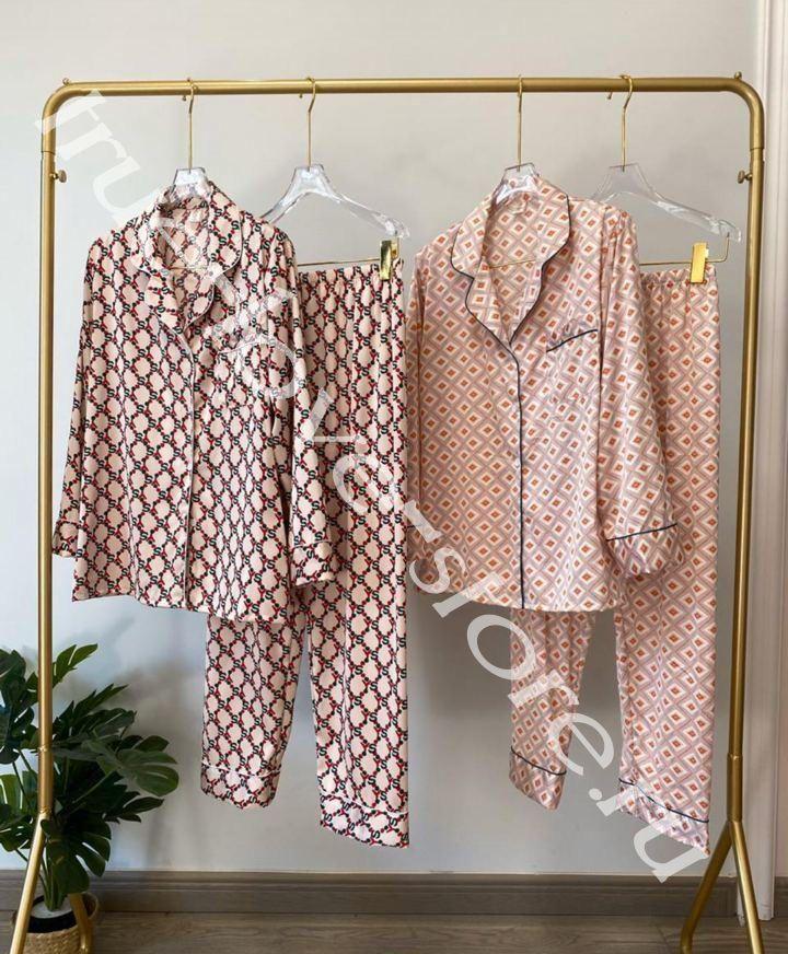 720194- Цена за 2 шт, Пижама двойка VS Орнамент (L,XL)