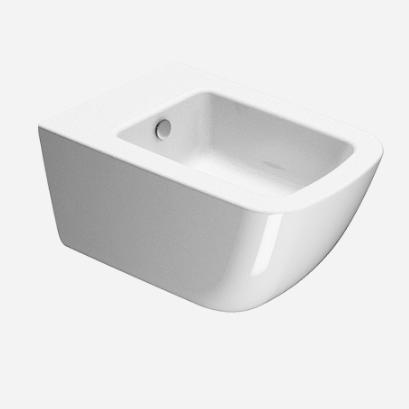 Подвесное керамическое биде GSI Sand 90651 ФОТО
