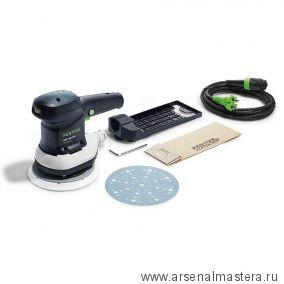 Эксцентриковая шлифовальная машинка FESTOOL ETS 150/3 EQ 575023
