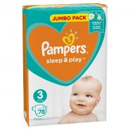 Pampers Sleep&Play 5-9кг, 78шт (3)