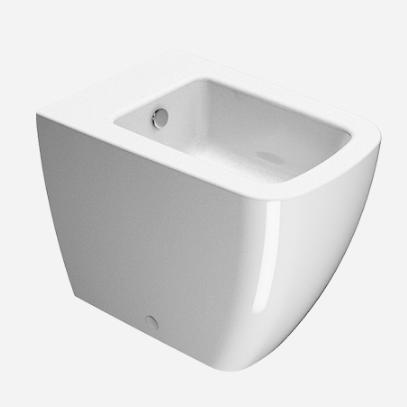 Напольное приставное керамическое биде GSI Sand 90621 ФОТО