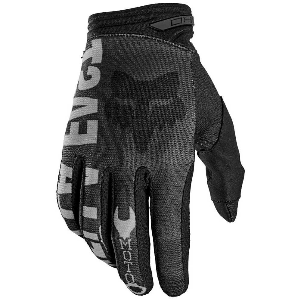 Fox 2021 180 Illmatik Black/Grey перчатки