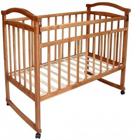 """Кровать детская """"Ульяна-2"""", а/с, кол/кач."""