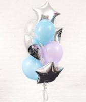 Композиция  из воздушных шаров «ДЛЯ НЕГО»