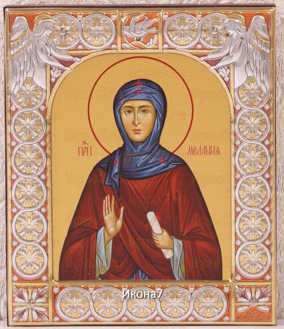 Икона Мелания Римляныня (9х10,5см)