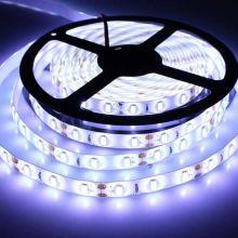 Светодиодная лента с пультом, 5 метров, Цвет свечения: Белый холодный