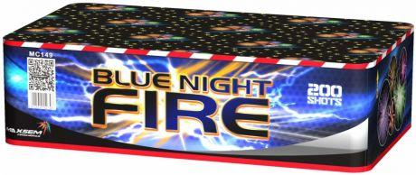 "Батареи салютов ""BLUE NIGHT FIRE"" 200 залпов"