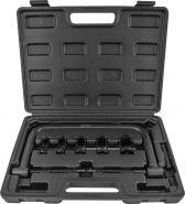 AVSCS2 Рассухариватель клапанов струбцинный в наборе с насадками, 16-30 мм Thorvik, 8 предметов