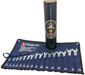 CWS0016T Набор ключей комбинированных в сумке, 16 предметов (6-19, 22, 24 мм) (в тубусе Thorvik)