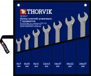 OEWS007 Набор ключей рожковых в сумке 6-27 мм Thorvik, 7 предметов