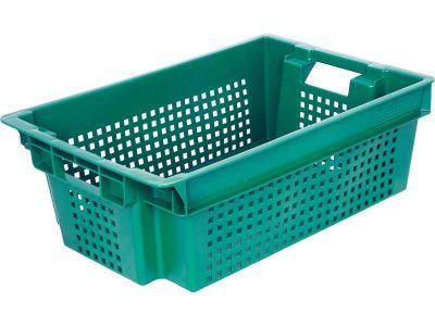 Ящик пластиковый 600x400х200 сплошное дно