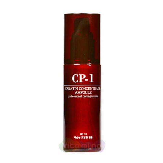 Esthetic House Концентрированная эссенция для волос с кератином CP-1 Keratin Concentrate Ampoule, 80 мл
