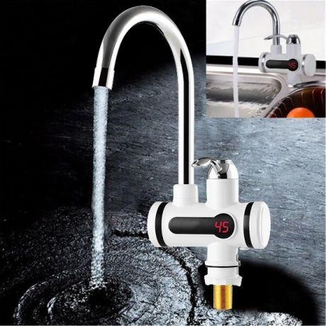 Водонагреватель проточный электрический Instant Electric Heating Water Faucet ( с экраном)