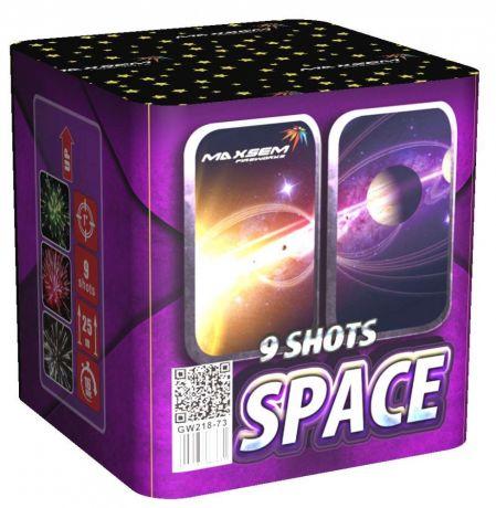 "Батареи салютов ""SPACE"" 9 залпов"