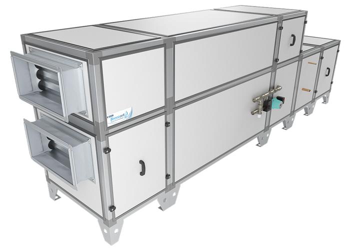 Приточно-вытяжная установка Breezart 3700 Aqua RP F PB