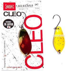 Блесна колеблющаяся Lucky John Cleo 2,5 гр / 31 мм/ цвет: 042