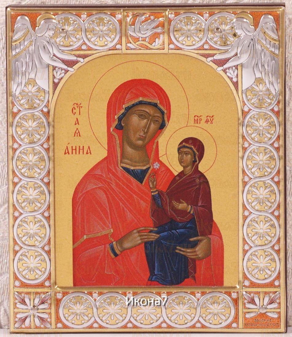Анна, мать Пресвятой Богородицы (9х10,5см)