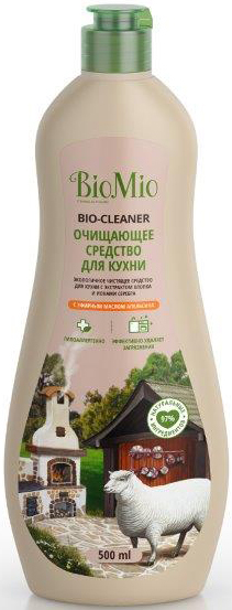 Bio-Mio Bio-Kitchen Cleaner чистящий крем для кухни Апельсин 500 мл