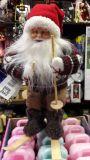 Санта Клаус на лыжах 30 см