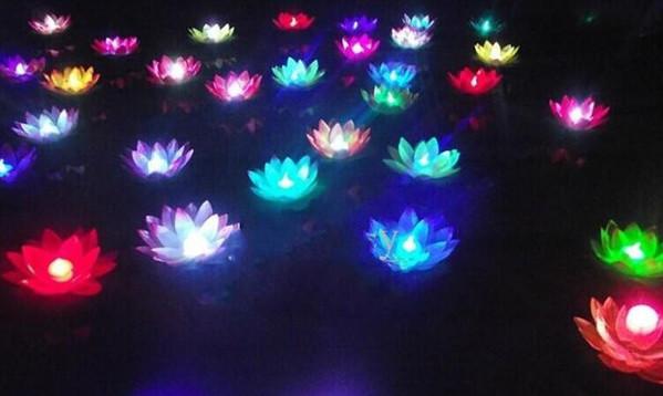 Светодиодный фонарик Цветочек