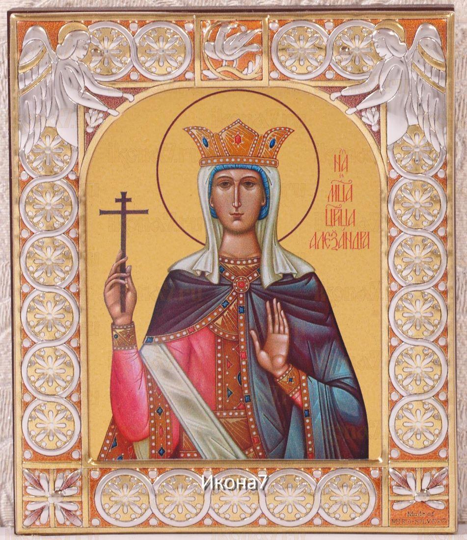 Икона Александра Римская (9х10,5см)