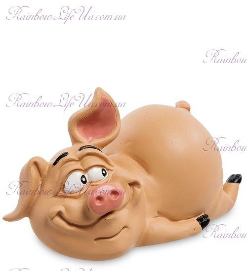 """Фигурка свинка жизнь удалась """"WS"""""""