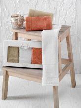"Комплект кухонных полотенец  бамбук ""KARNA"" PANDORA 30*50 - 3 шт. Арт.2199-3"