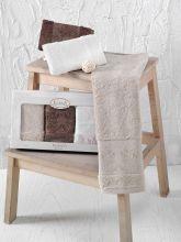 Комплект кухонных полотенец бамбук PANDORA (30*50)*3 Арт.2199-6