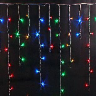 Гирлянда БАХРОМА, 100 LED, 2.5*0.7 Разноцветная