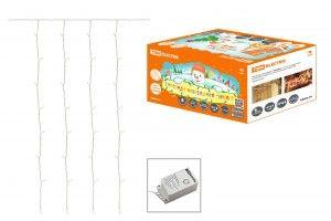 Гирлянда-занавес электрическая TDM SQ0361-0029 белый