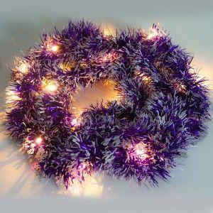 Гирлянда с питанием от батареек Feron CL800 фиолетовый