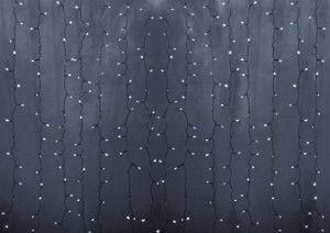 """Гирлянда электрическая Neon-Night занавес """"Светодиодный дождь'' Белый 235-195"""