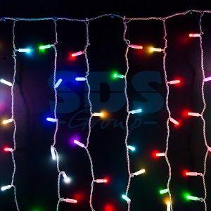 """Гирлянда электрическая Neon-Night занавес """"Светодиодный дождь'' RGB 245-319"""