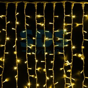 """Гирлянда электрическая Neon-Night занавес """"Светодиодный дождь'' Желтый 237-131"""