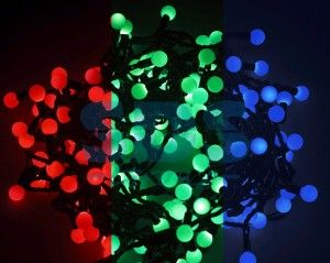 Гирлянда электрическая SnowHouse ILDBL050-RGB-E ''Шарики'' RGB