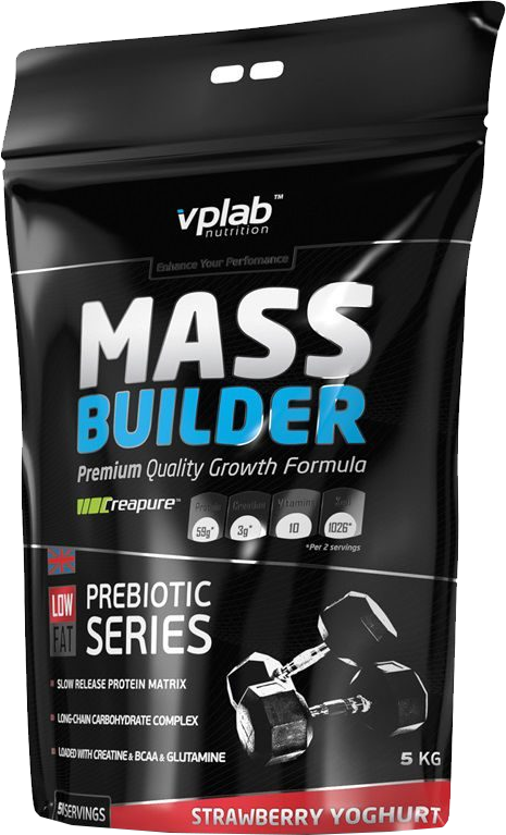 VPLab Mass Builder Strawberry Yoghurt
