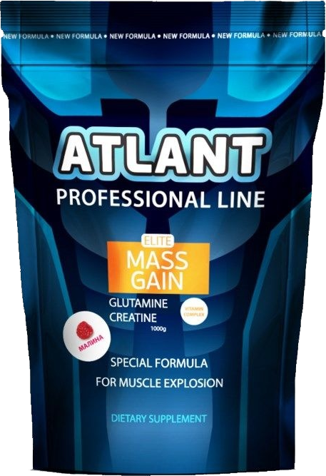 Гейнер Atlant Elite Mass Gain Glutamine + Creatine