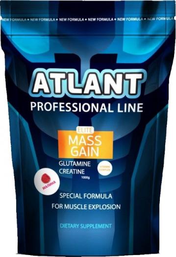 Гейнер Atlant Elite Mass Gain Glutamine + Creatine