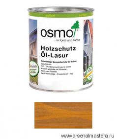 Защитное масло-лазурь для древесины для наружных работ OSMO Holzschutz Ol-Lasur 706 Дуб 0,125 л
