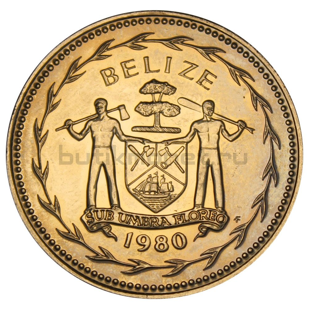 1 доллар 1980 Белиз
