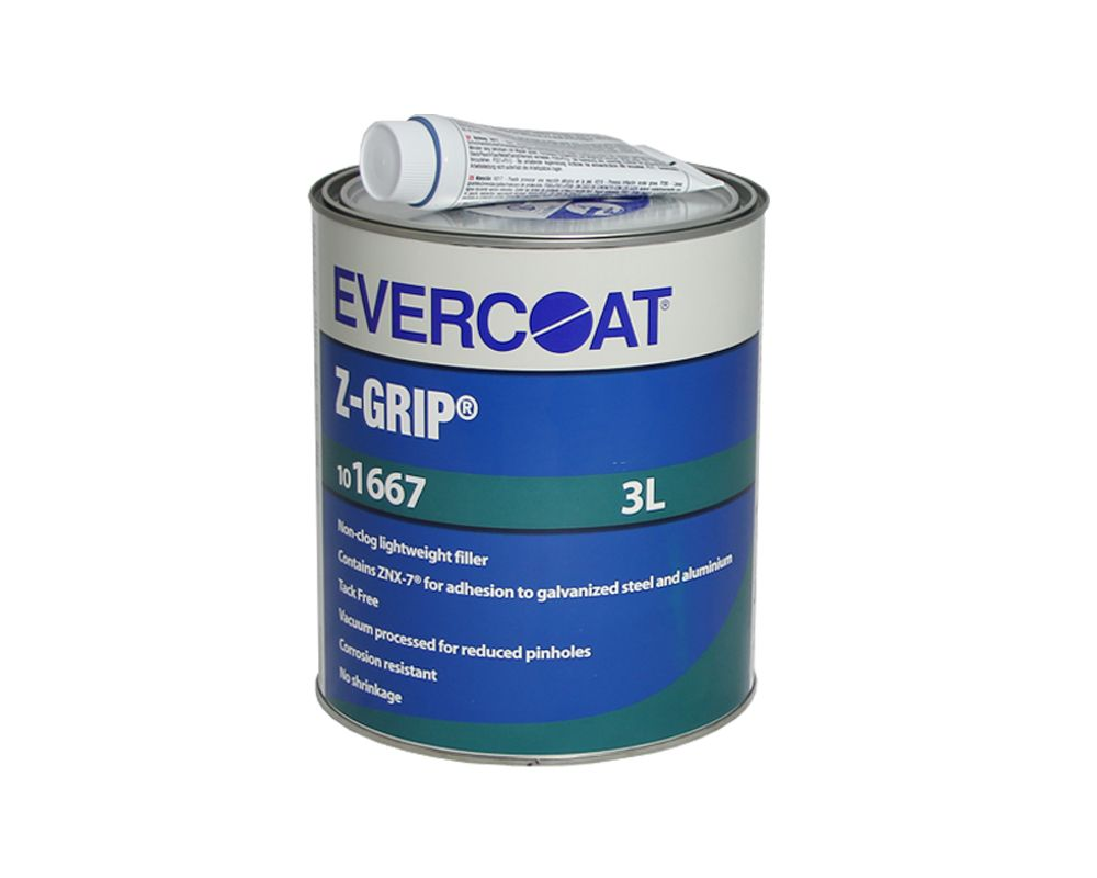EVERCOAT Z-Grip жидкая лёгкая наполняющая мелкозернистая шпатлёвка, 3л.