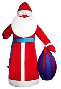 Дед Мороз с мешком подарков ( 2,0 м)