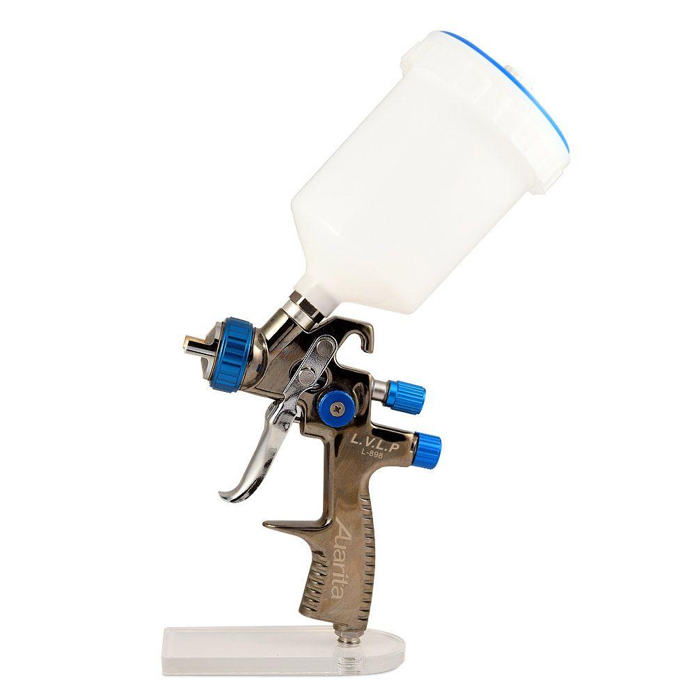 AUARITA L-898 Окрасочный пистолет с верхним бачком и дюзой 1,4мм., 1,8мм.