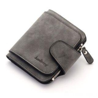 Женский замшевый кошелёк Baellerry Forever Mini, Тёмно-серый