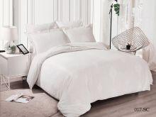 Комплект постельного белья Лен Soft cotton жаккард    2-спальный Арт.21/017-SC