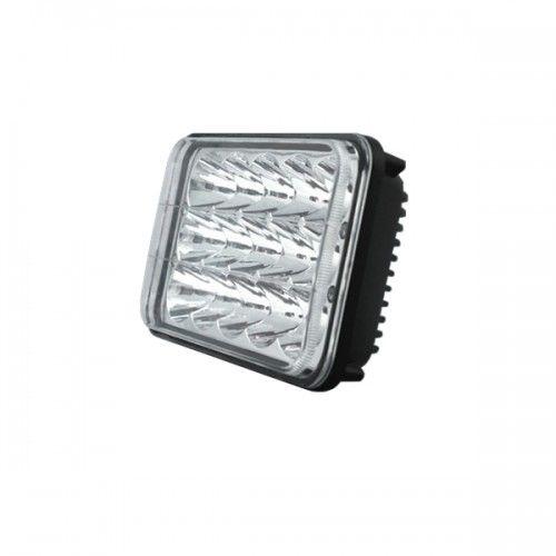 Прямоугольная светодиодная LED фара ближнего/дальнего света 45W Epistar
