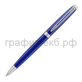 Ручка шариковая Waterman Hemisphere CT Bright Blue сталь нержавеющая/лак 2042968