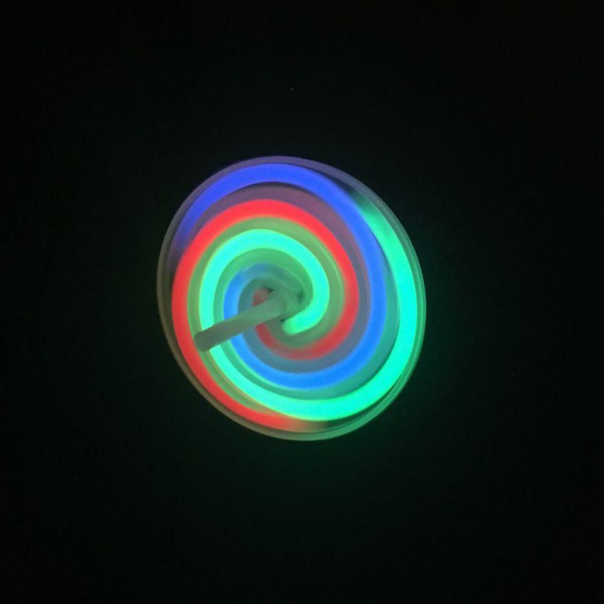 Светящийся волчок Glow Gyro, 1 шт