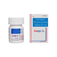 Натдак (Даклатасвир 60мг) Натко Фарма | Natdac Natco Pharma (Daclatasvir 60 Mg)