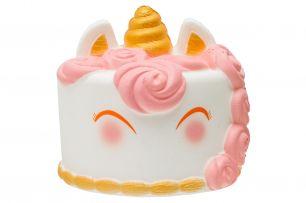 Игрушка анти стресс сквиши (Squishy) Торт-единорог